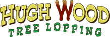 Hugh Wood Tree Lopping Logo